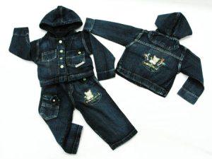 moda jeans infanto juvenil